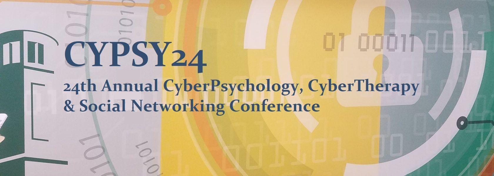 24ª Conferencia anual en Ciberpsicología, Ciberterapia & redes sociales