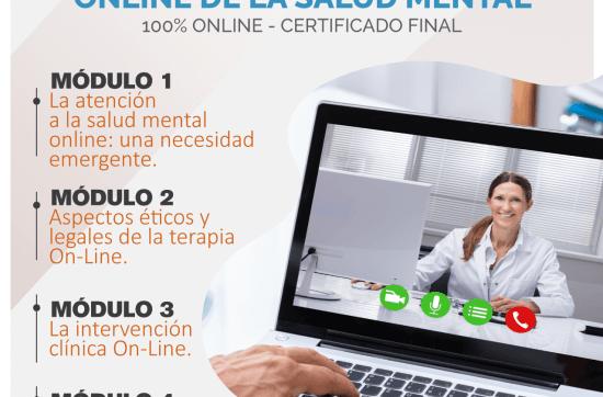 Especialista en atención on-line en salud mental 7º Edición