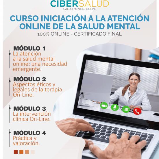 Iniciación a la atención on-line de la salud mental
