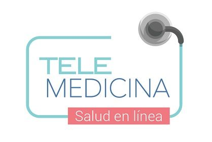 Logo telemedicina salud en línea 418x280